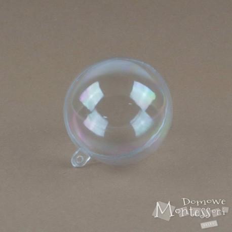 Plastikowa kula dwuczęściowa 60 mm