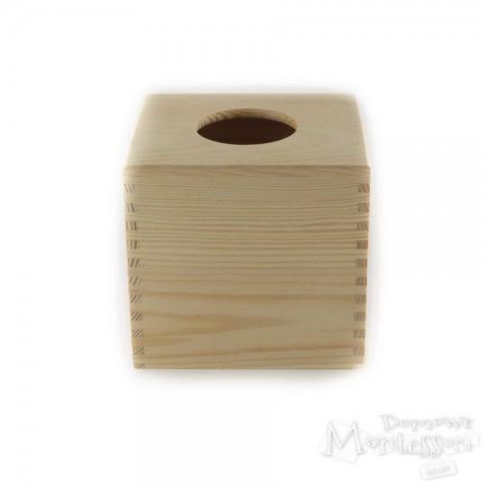 Pudełko na chusteczki, chustecznik z okrągłym otworem