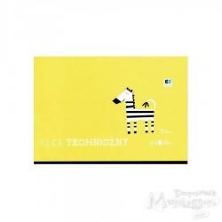 Blok techniczny biały A4 240 g/m2