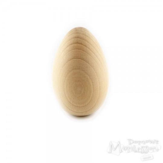 Jajko drewniane duże