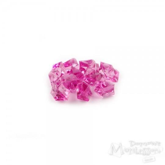 Kamienie kryształy 10 sztuk