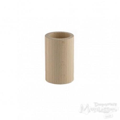 Kubek drewniany okrągły H 8,5 cm