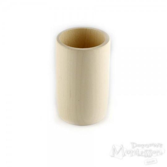 Kubek drewniany okrągły H 9,5 cm