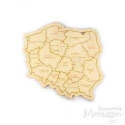 Puzzle - mapa Polski