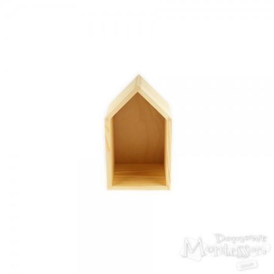 Domek drewniany mały