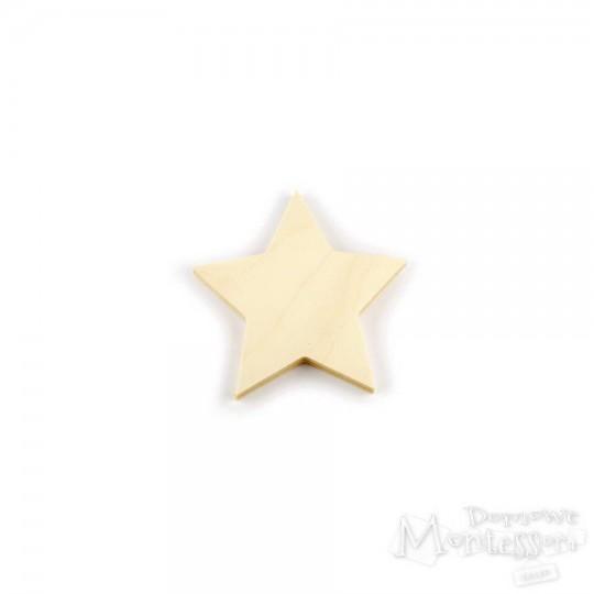 Gwiazda ze sklejki mała