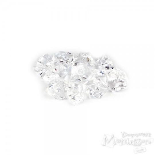 Kamienie kryształy drobne 10 sztuk
