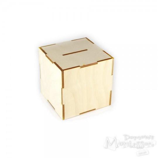Skarbonka - kwadrat do składania