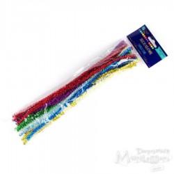 Druciki kreatywne 30 cm metalizowane 25 sztuk