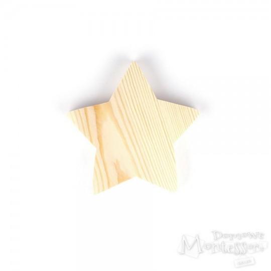 Gwiazda drewniana średnia