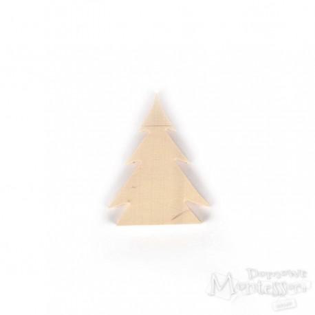 Choinka ze sklejki mała