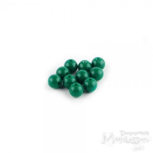 Zestaw koralików - zielona 10