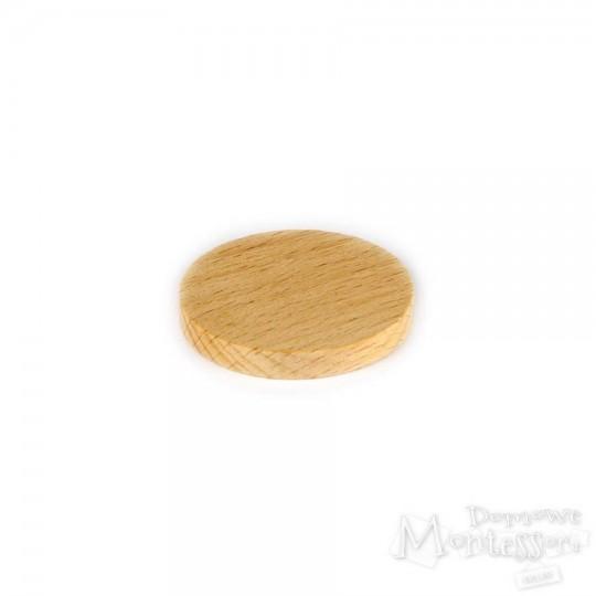 Żeton drewniany