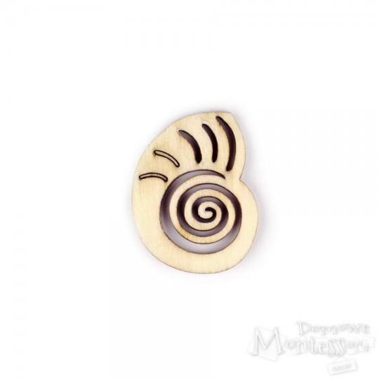 Miniatury - muszla
