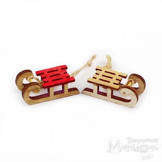 Miniatury - sanki