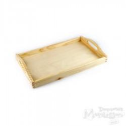 Taca drewniana średnia
