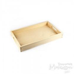 Taca drewniana prosta