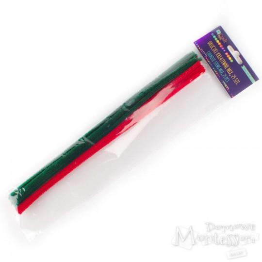 Druciki kreatywne 30 cm trzy kolory 25 sztuk