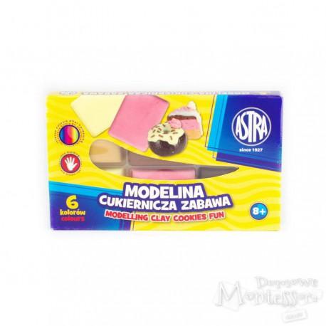Modelina cukiernicza zabawa Astra 6 kolorów