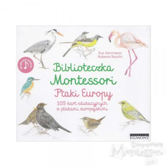 Biblioteczka Montessori. Ptaki Europy
