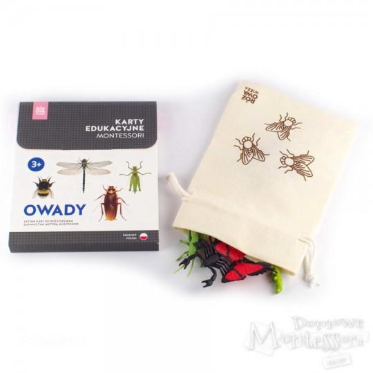 Owady (komplet karty i figurki)
