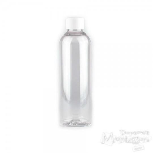 Butelka bezbarwna 200 ml z zakrętką