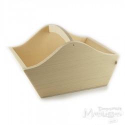 Koszyk drewniany duży