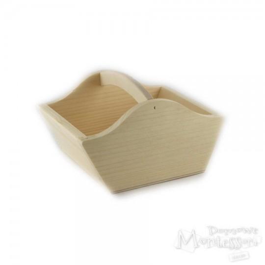 Koszyk drewniany średni