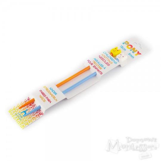 Druty proste dla dzieci - 5 mm